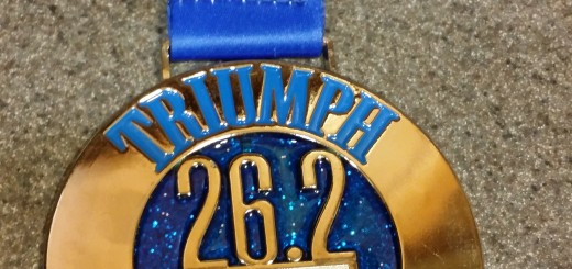 2014 Columbus Marathon Finisher's Medal -- Achieving Millennial