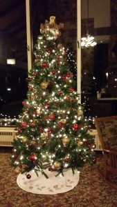Salt Fork Lodge Christmas Tree -- Achieving Millennial