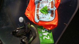 Rocks and Roots bib and race shirt -- achieving millennial